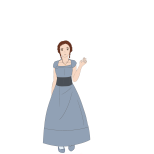 Susan clothed